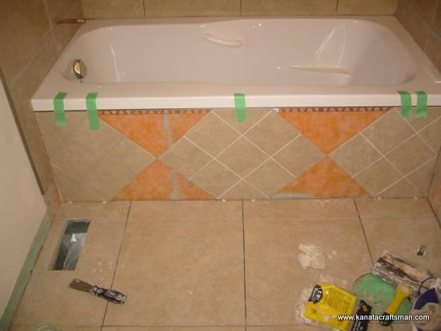 Экран для ванны своими руками керамический